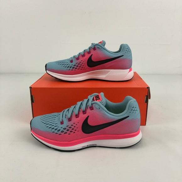 Ladies Shoes Nylon Red Nike Air Pegasus 30 Athletic Pink